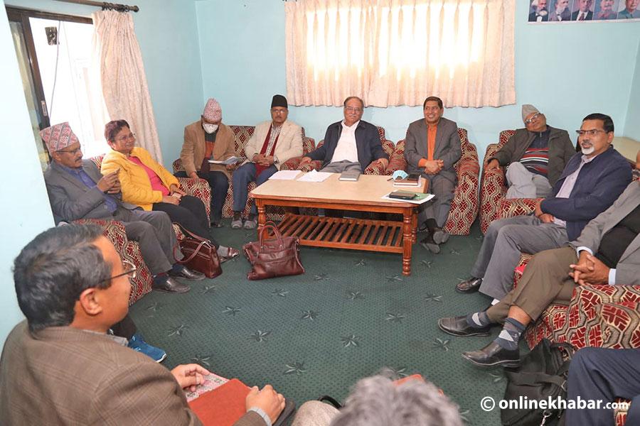 माओवादी केन्द्रको प्रस्ताव : कोभिडविरुद्ध लड्न सर्वपक्षीय राजनीतिक संयन्त्र
