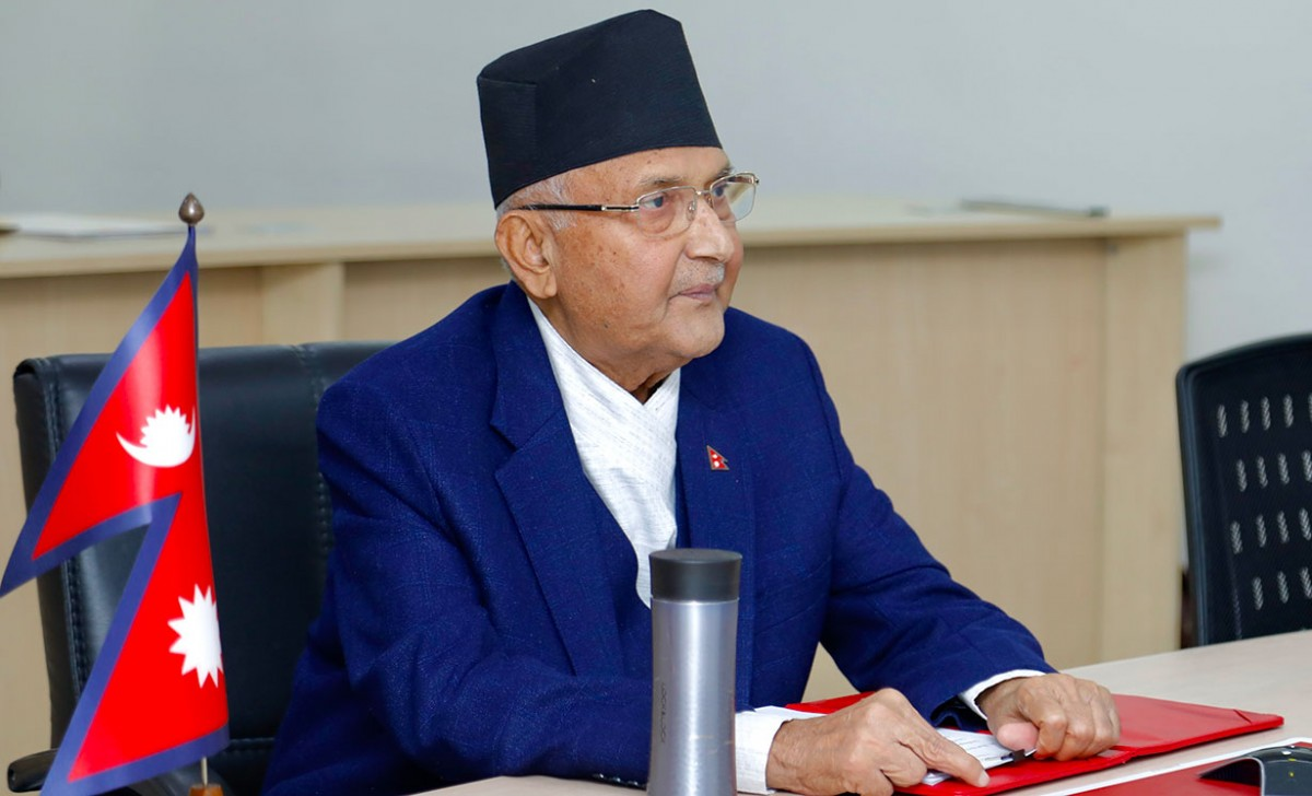 एमालेको स्थायी कमिटी बैठकमा लुम्बिनी प्रदेशको राजनीतिबारे ओलीको ब्रिफिङ