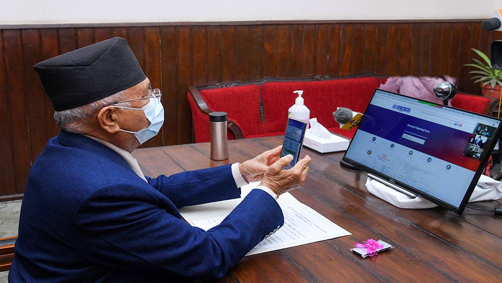 कार्यालय धाउनुपर्ने झन्झटबाट मुक्त गर्छौं : प्रधानमन्त्री