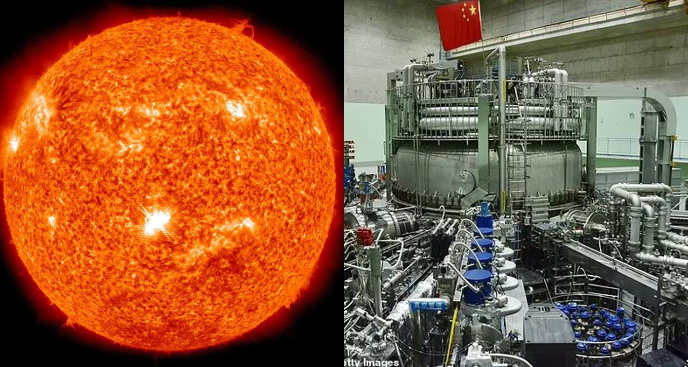 चीनसँग छ वास्तविक सूर्यभन्दा १० गुणा शक्तिशाली सूर्य !