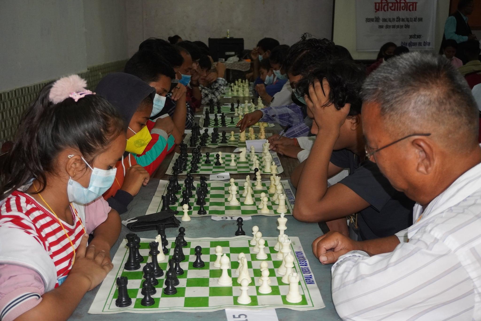 अन्तर प्रदेशस्तरीय बुद्धिचाल प्रतियोगिता सम्पन्न्